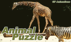 Animal Puzzle Splash Page