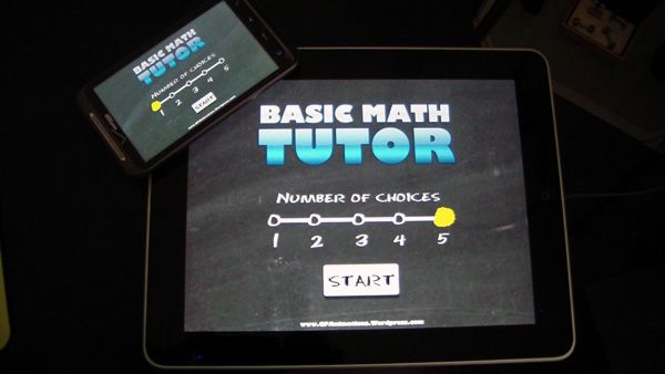 Basic Math Tutor