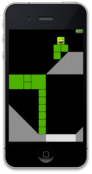 Stencyl iOS game created with a video tutorial