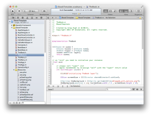 Creating a Book in Xcode