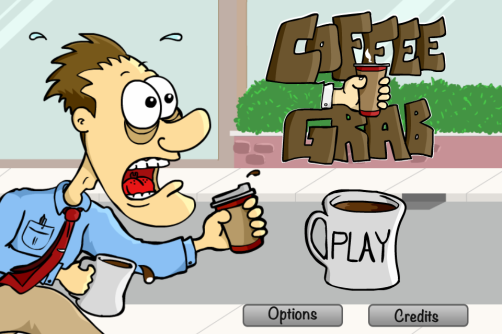 Coffee Grab - Copyright 2013 Greg Pugh - GP ANimations