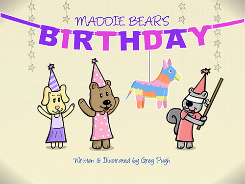 Maddie Bear's Birthday