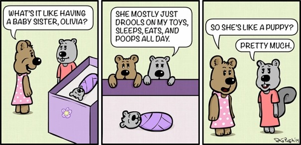Maddie Bear Comic #2 Copyright 2014 Greg Pugh - GP Animations