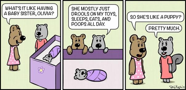 Maddie Bear Comic #2 Copyright 2014 Greg Pugh - GP Animations