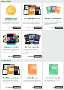 RayWenderlich.com Books & Starter Kits