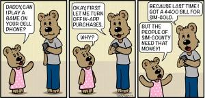 Maddie Bear Comic #10