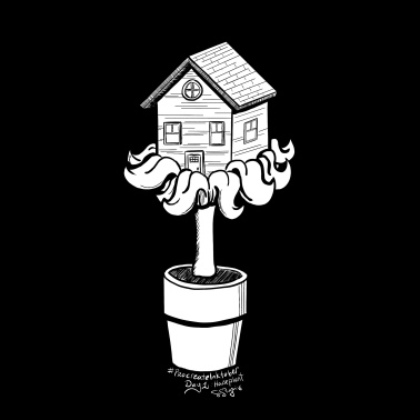 Procreate Inktober Day 1: Houseplant