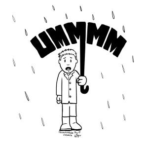 Procreate Inktober Day 17: Umbrella